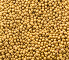 Free Little Golden Balls Royalty Free Stock Photo - 15367685