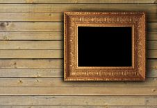 Free Wood Texture With Picture Frame Royalty Free Stock Images - 15367749