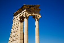 Free Ruins At The Sanctuary Of Apollon Ylatis, Cyprus Royalty Free Stock Photos - 15367778