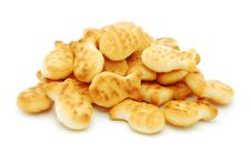 Free Fish Shape Biscuits Royalty Free Stock Photo - 15368265