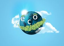 Free Eco Concept Royalty Free Stock Photography - 15368277