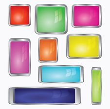 Free Various Color Computer Icons Stock Images - 15368304