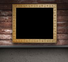 Free Empty Room With Picture Frame Stock Photography - 15368832