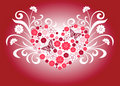 Free Floral Heart Shape Royalty Free Stock Photos - 15377818