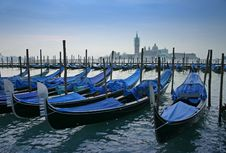 Free Gondolas Stock Photography - 15370642