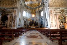 Free Interior Of Saint Peter S Dome Rome, Italy. Stock Photos - 15370833