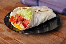 Surimi Kebab With Vegetable Royalty Free Stock Image