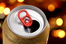 Free Can Beer Royalty Free Stock Photo - 15372595