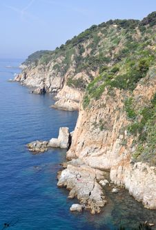 Free Tossa De Mar Coast Royalty Free Stock Photos - 15373118