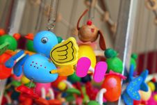 Hanging Toys Stock Images