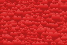 Free Red Hearts Royalty Free Stock Image - 15374216