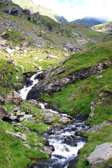 Free Beautiful Landscape With Rocky Waterfall Stock Images - 15374334