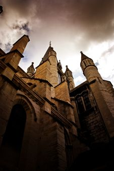 Free Church In Dijon City France Royalty Free Stock Image - 15374596