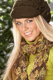 Free Fashionable Woman Wearing Knitwear In Studio Stock Photos - 15374753