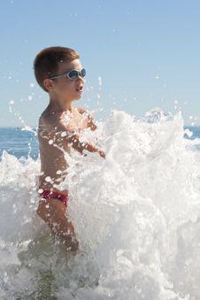 Free Child On The Beach Stock Photo - 15374870
