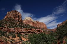 Free Zion National Park 3 Royalty Free Stock Images - 15376359