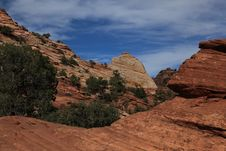 Free Zion National Park 8 Royalty Free Stock Image - 15376376