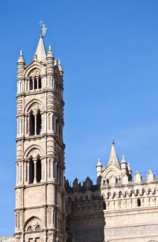 Free Cathedral Of Palermo Stock Image - 15377271