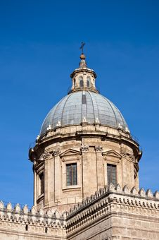 Free Cathedral Of Palermo 2 Stock Photos - 15377353