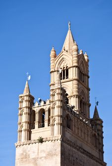 Free Beautiful Cathedral Of Palermo Royalty Free Stock Photo - 15377375