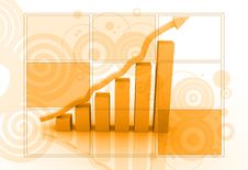 Free Business  Graph Stock Image - 15377831