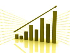 Free Business Graph Royalty Free Stock Photo - 15377875