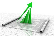 Free Business Graph Stock Photography - 15377932