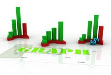 Free Business Graph Royalty Free Stock Photo - 15377955