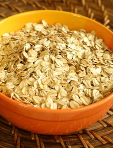 Free Oats In Bowl Royalty Free Stock Photography - 15378697