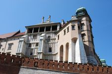 Free Royal Wawel Castle, Cracow Stock Photography - 15379432