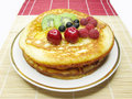Free Sweet Pancakes With Fruits Stock Images - 15381304