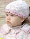 Free The Serious Baby Royalty Free Stock Photography - 15386097