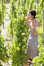 Free Woman Eating Grapes Stock Photos - 15389793