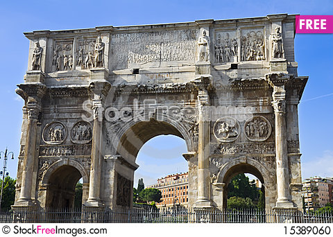 Free The Arch Of Constantine Stock Photo - 15389060