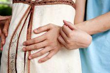 Free Pregnant Woman Royalty Free Stock Image - 15380166
