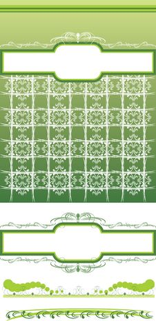 Free Decorative Background And Frames Royalty Free Stock Photo - 15381095