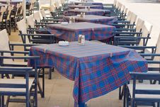 Free Restaurant Tables Royalty Free Stock Image - 15381496