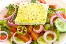 Free Greek Salad Royalty Free Stock Images - 15381789