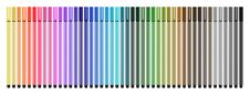 Free Colored Pens Close Stock Photography - 15381832
