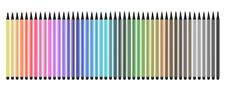 Free Colored Pens Open Royalty Free Stock Photography - 15381857
