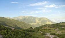 Free Mountain Scene Panorama Royalty Free Stock Photo - 15383185