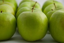 Free Green Apples Royalty Free Stock Image - 15383826