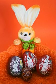 Free Easter Bunny Royalty Free Stock Images - 15384159