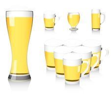 Free Beer Glass Stock Photo - 15384200