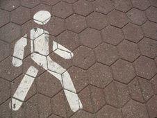 Free Pedestrian Sign Stock Image - 15384621