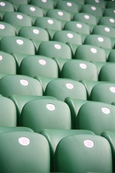 Free Stadium Seats Royalty Free Stock Images - 15385869