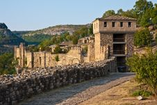 Tsarevets Fortress In Veliko Turnovo Royalty Free Stock Photography