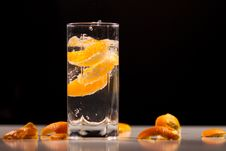 Free Orange In Water Stock Images - 15386874