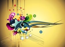 Free Vector Abstract Illustration Royalty Free Stock Photography - 15387327