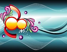 Free Vector Abstract Illustration Stock Photography - 15387342